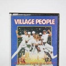 Casetes antiguos: CINTA DE CASETE/CASSETTE - THE VILLAGE PEOPLE, CAN'T STOP THE MUSIC - RCA - AÑO 1980. Lote 133733987