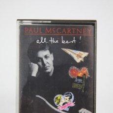 Casetes antiguos: CINTA DE CASETE/CASSETTE - PAUL MC CARTNEY, ALL THE BEST - EMI - AÑO 1987. Lote 133735118