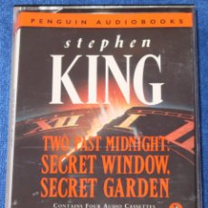 Casetes antiguos: STEPHEN KING - PENGUIN AUDIOBOOKS (1994). Lote 134247442