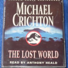 Casetes antiguos: THE LOST WORL - MICHAEL CRICHTON - PENGUIN AUDIOBOOKS (1995). Lote 134247466
