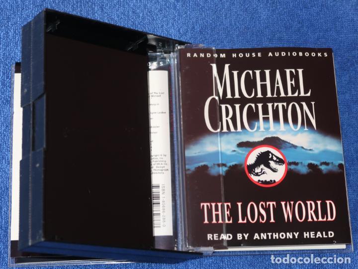Casetes antiguos: The Lost Worl - Michael Crichton - Penguin Audiobooks (1995) - Foto 2 - 134247466