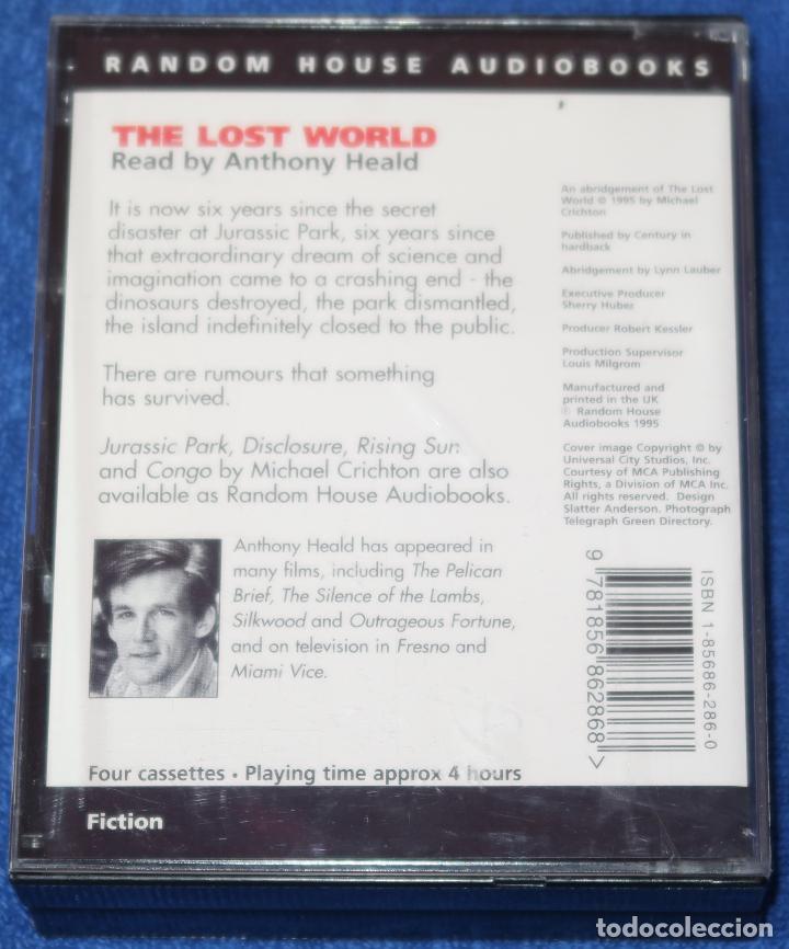 Casetes antiguos: The Lost Worl - Michael Crichton - Penguin Audiobooks (1995) - Foto 4 - 134247466