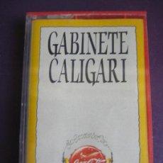 Casetes antiguos: GABINETE CALIGARI CASETE EMI PROMO COCA COLA - 6 TEMAS - SIN APENAS USO - MOVIDA. Lote 135103862