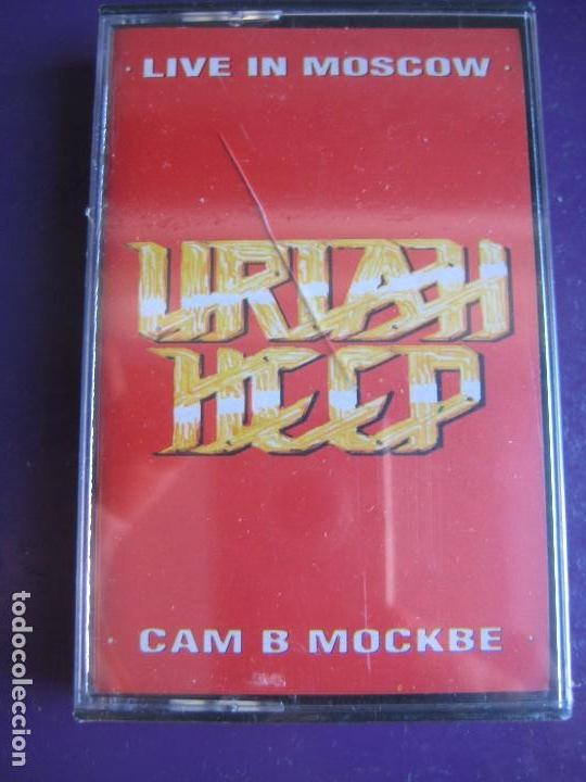 Uriah Heep Casete Victoria Live In Moscow P Sold Through Direct Sale 135528242