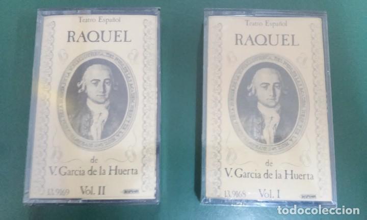 RAQUEL. GARCÍA DE LA HUERTA. TEATRO ESPAÑOL. CASETES NUEVOS. 2 VOLS. ILUSTRACIÓN. SIGLO XVIII (Música - Casetes)
