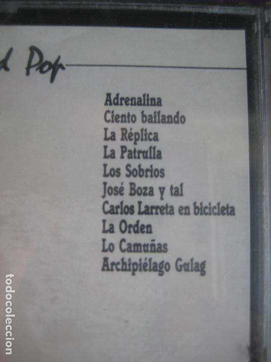 Casetes antiguos: MADRID POP DOBLE CASETE ACUARIO - LO CAMUÑAS - CIENTO BAILANDO - CARLOS LARRETA ETC.. HARD ROCK FUNK - Foto 2 - 136342894
