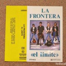 Casetes antiguos: LA FRONERA - EL LIMITE - RECOPILATORIO. Lote 136670286