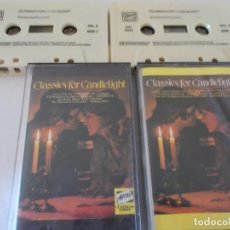 Casetes antiguos: CLASSICS FOR CANDLELIGHT. 2 CASET. Lote 137129334