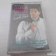Cassettes Anciennes: CARLOS ORTEGA. CABALLO BLANCO, NUEVO CON SU PRECINTO. Lote 137429678