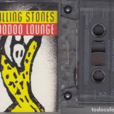 Casetes antiguos: THE ROLLING STONES - VOODOO LOUNGE - CINTA DE CASETE - CASSETTE TAPE. Lote 137443298