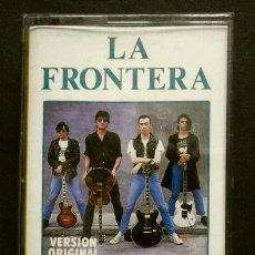 Casetes antiguos: LA FRONTERA (CASETE 1990) EL LIMITE --- NUEVO PRECINTADO ---. Lote 137533406