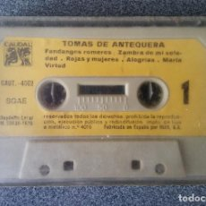 Casetes antiguos: CASETE TOMAS DE ANTEQUERA. Lote 137818154