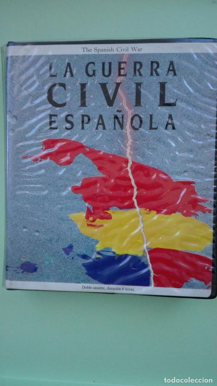 LA GUERRA CIVIL ESPAÑOLA (Música - Casetes)