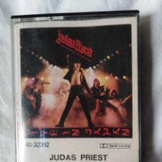 Casetes antiguos: JUDAS PRIEST-UNLEASHED IN THE EAST-LIVE IN JAPAN. Lote 140089302