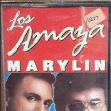 Casetes antiguos: LOS AMAYA. MARYLIN. MC / CBS - 1987. RUMBA CATALANA / PRECINTADO.. Lote 140301334