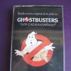 Casetes antiguos: GHOSTBUSTERS - LOS CAZAFANTASMAS CASETE ARISTA 1984 BSO OST CINE - RAY PARKER JR - FUNK DISCO. Lote 141179506