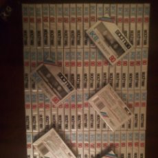 Casetes antiguos: 100 CINTAS DE CASSETTE VIRGEN SOCIMAG DC-II 90 POSICION CROMO NUEVAS PRECINTADAS. Lote 210392458