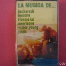 Casetes antiguos: CASETE CASETES CASSETE DE MUSICA VARIADA Nº 209. Lote 141677662