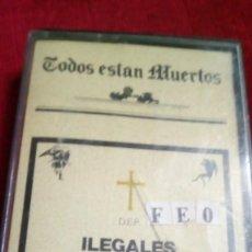Casetes antiguos: TODOS ESTÁN MUERTOS. Lote 142507890