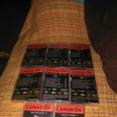 Casetes antiguos: 8 CASSETTES DE CAMARON DE LA ISLA DE COLECCIONISTA. Lote 142942650