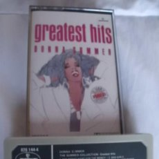 Casetes antiguos: GREATEST HITS DONNA SUMMER. Lote 142979550