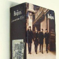 Casetes antiguos: THE BEATLES - LIVE AT THE BBC - DOBLE CASETE CON ESTUCHE Y LIBRITO - EDICIÓN INGLESA, 1994. Lote 143196182