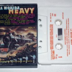 Casetes antiguos: CINTA CASSETTE LA MOVIDA HEAVY - JUDAS PRIEST - OZZY - SAXON - JOE PERRY - CHEAP TRICK.... Lote 143314410