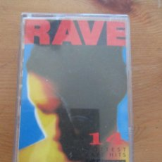 Casetes antiguos: RAVE 14 HOTTEST RAVE HITS STONE ROSES PRIMAL SCREAM KLF SOUP DRAGONS THE FARM TELSTAR 1990. Lote 143344334