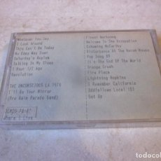 Casetes antiguos: RAIN PARADE LIVE CBGB´S NYC 10-83 / R.E.M. DEMOS 1988-89 CASETE. Lote 143947594