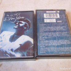 Casetes antiguos: THE VERY BEST OF ELTON JOHN DOBLE CASETE - THE ROCKET RECORD COMPANY 1990. Lote 143947962