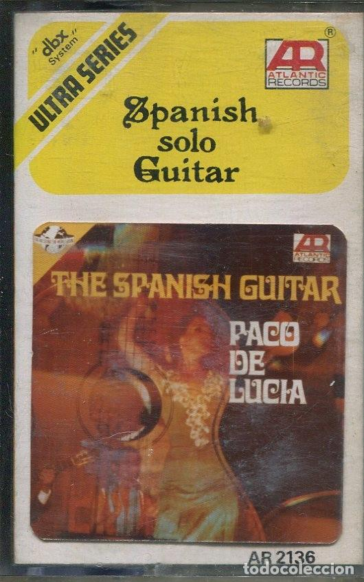 Casetes antiguos: PACO DE LUCIA / THE SPANISH GUITAR ATLANTIC RECORDS EDITADA EN INDONESIA) - Foto 1 - 143973758