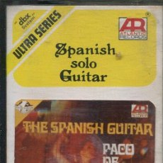 Casetes antiguos: PACO DE LUCIA / THE SPANISH GUITAR ATLANTIC RECORDS EDITADA EN INDONESIA). Lote 143973758