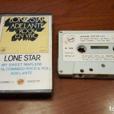 Casetes antiguos - Lone Star - Adelante Rock en VIvo - Casete 1980 - - 144456966