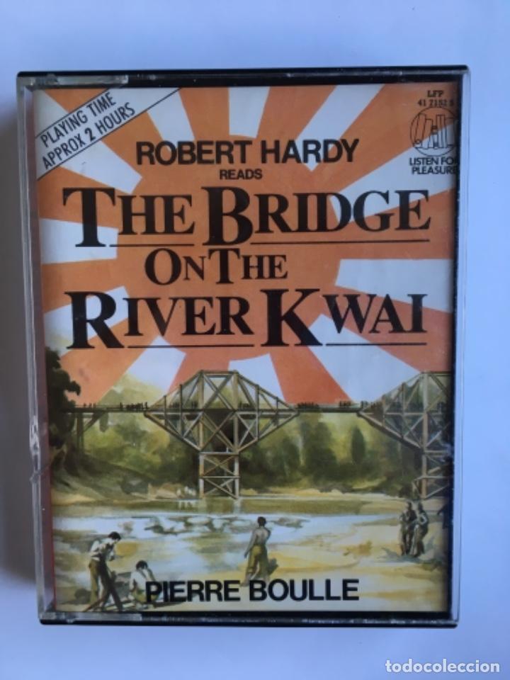 CASETE THE BRIDGE ON THE RIVER KWAI. PIERRE BOULE. LISTEN FOR PLEASURE. EMI 1984. DOBLE CASSETTE (Música - Casetes)