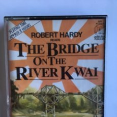 Casetes antiguos: CASETE THE BRIDGE ON THE RIVER KWAI. PIERRE BOULE. LISTEN FOR PLEASURE. EMI 1984. DOBLE CASSETTE. Lote 145201838