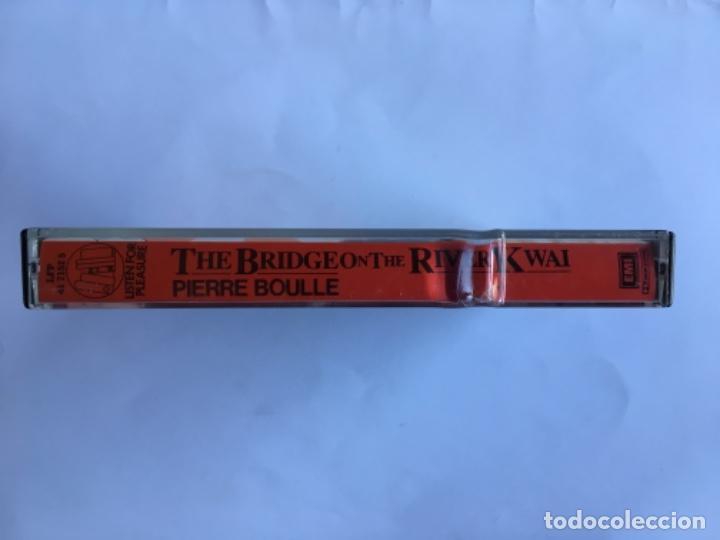 Casetes antiguos: Casete The Bridge on the river Kwai. Pierre Boule. Listen for pleasure. EMI 1984. Doble Cassette - Foto 10 - 145201838