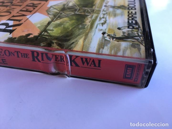 Casetes antiguos: Casete The Bridge on the river Kwai. Pierre Boule. Listen for pleasure. EMI 1984. Doble Cassette - Foto 11 - 145201838