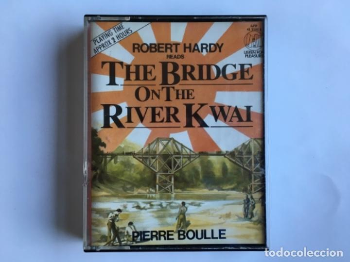 Casetes antiguos: Casete The Bridge on the river Kwai. Pierre Boule. Listen for pleasure. EMI 1984. Doble Cassette - Foto 13 - 145201838