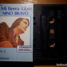 Casetes antiguos: CINTA DE CASSETTE - CASETE - NINO BRAVO - MI TIERRA - LIBRE - VOL. 2 - TIP - 1981. Lote 145454642