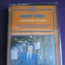 Casetes antiguos: DANNY DANIEL CASETE EMI PRECINTADA - CANCIONES DE ORO - EXITOS - BALADA POP 70'S. Lote 145473686