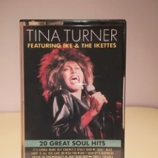 Casetes antiguos: CASETE TINA TURNER FEATURING IKE & THE IKETTES. Lote 145746474
