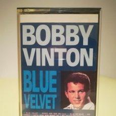 Casetes antiguos: CASETE BOBBY VINTON - BLUE VELVET. Lote 145747134