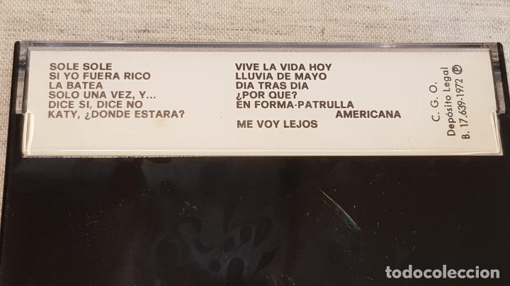 Casetes antiguos: LOS GRANDES CONJUNTOS ESPAÑOLES / MC - EMI -1972 / MUY BUENA CALIDAD / DIFÍCIL / LEER - Foto 2 - 146129166