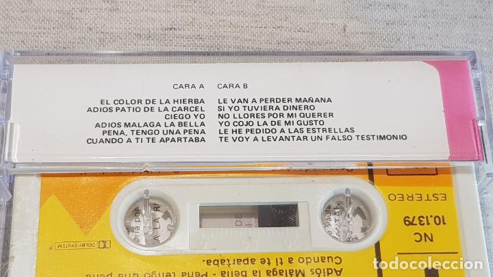 Casetes antiguos: ASI CANTA...EL AGUJETAS / EL COLOR DE LA HIERBA / MC - DIAL DISCOS-1978 / CALIDAD LUJO. - Foto 2 - 146134238
