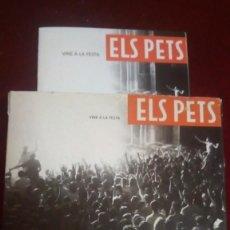 Casetes antiguos: ELS PETS 2 CASETES + LIBRITO DE FOTOS. Lote 146353014