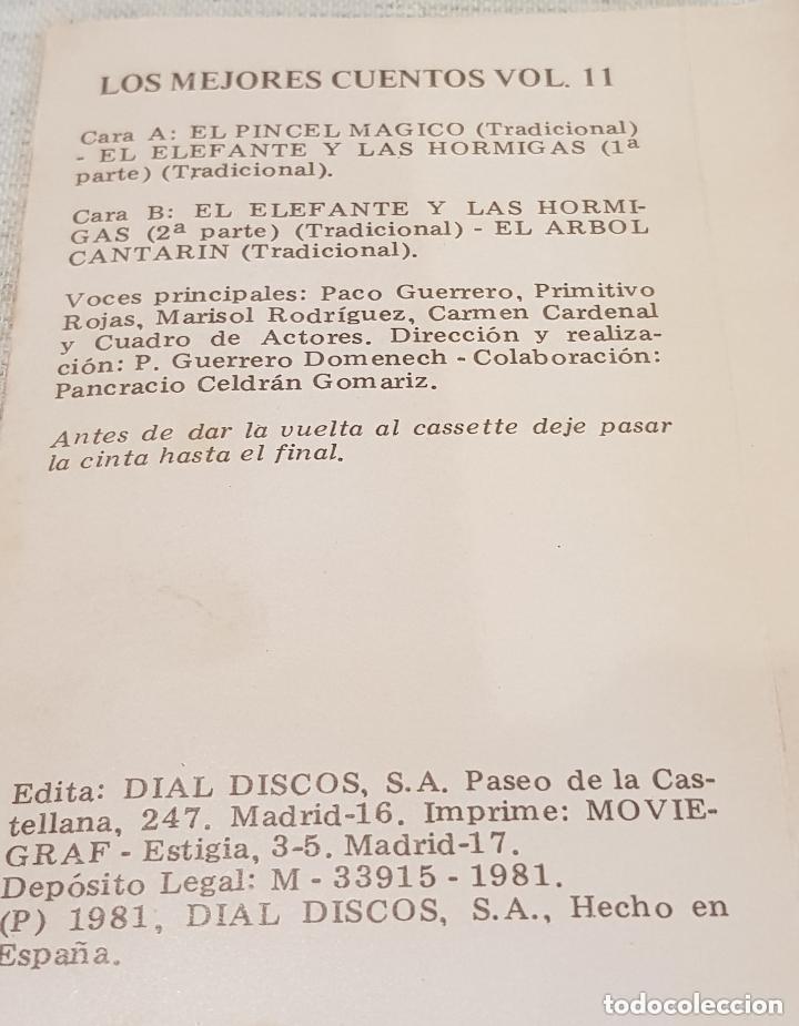 Casetes antiguos: LOS MEJORES CUENTOS / VOLUMEN 11 / MC - DIAL DISCOS - 1981 / PRECINTADO - OFERTA !! - Foto 3 - 146508462
