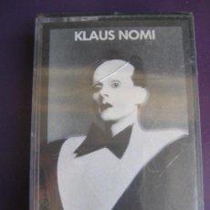 Casetes antiguos: KLAUS NOMI CASETE RCA 1981 - ELECTRONICA ALEMANIA - BOWIE - SYNTH POP - TECNO - . Lote 146514322
