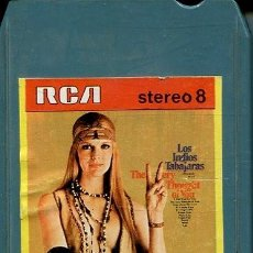 Cassettes Anciennes: LOS INDIOS TABAJARAS / THE VERY THOUGHT OF YOU (CARTUCHO STEREO 8 RCA 1971). Lote 146610882