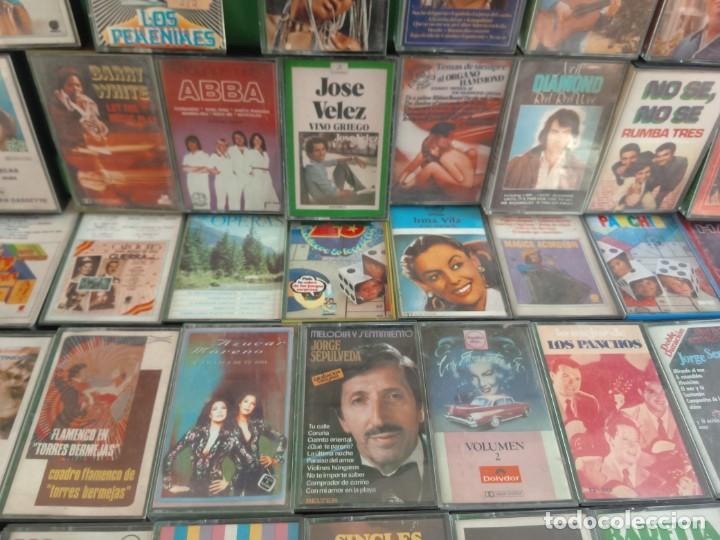 Casetes antiguos: CASETES LOTE DE 109 - MÚSICA DE LOS AÑOS 70 - Foto 7 - 146955434