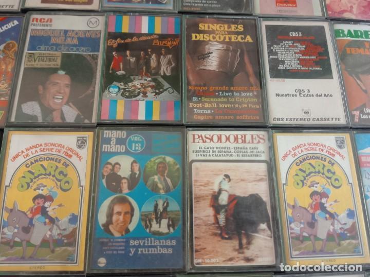 Casetes antiguos: CASETES LOTE DE 109 - MÚSICA DE LOS AÑOS 70 - Foto 10 - 146955434